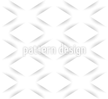 Gravierte Rauten Musterdesign