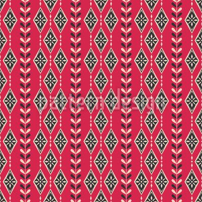 Skandinavisches Weihnachten Muster Design