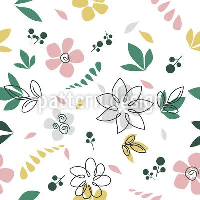 Botanical Sketches Vector Design