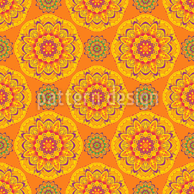 Exotic Mandala Burst Repeat