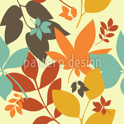 Golden Fall Pattern Design