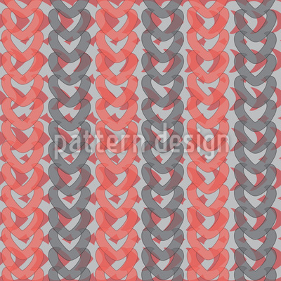 Stripe Knitting Vector Design