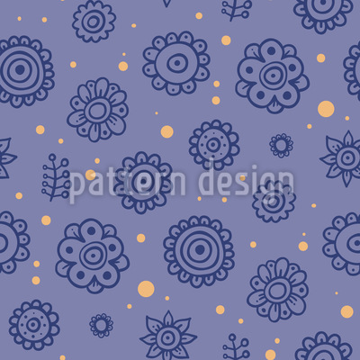 Midnight Flowers Design Pattern