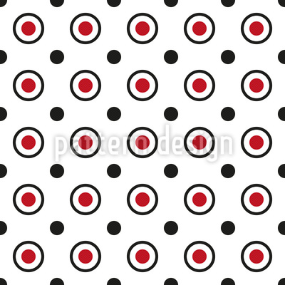 Moderne Punkte Und Kreise Vektor Design