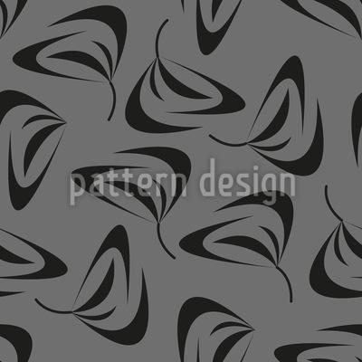 Wirbelnde Blätter Vektor Muster