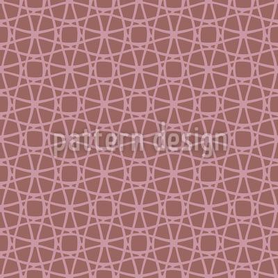 Niedliches Netzwerk Muster Design