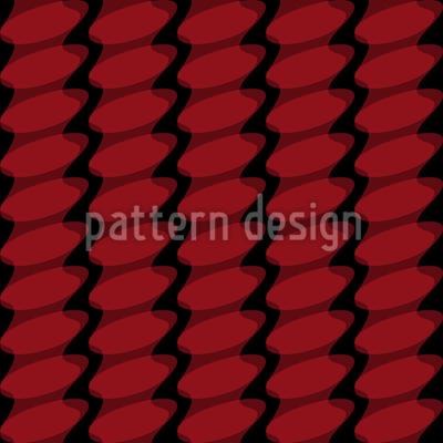 Curved Squares Pattern Design