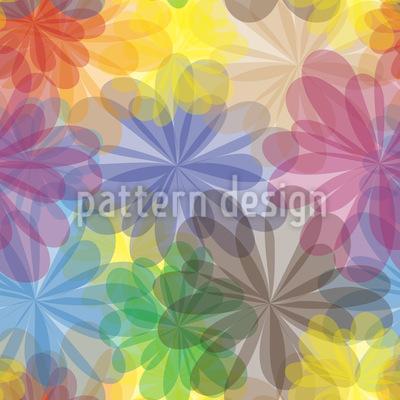 Blüten Paradies Vektor Muster