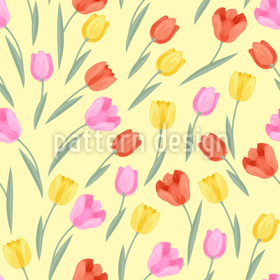Lovely Tulips Vector Design