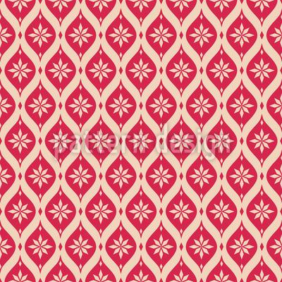 Vintage Snowflakes Mosaic Design Pattern
