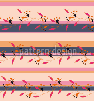 Ines Pink Seamless Vector Pattern Design