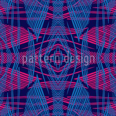 Gekreuzte Linienstruktur Nahtloses Vektor Muster