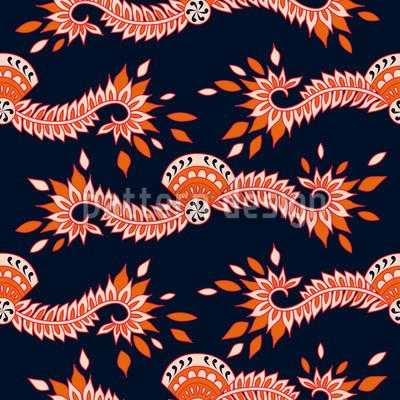 Cavallo Schwarz Muster Design