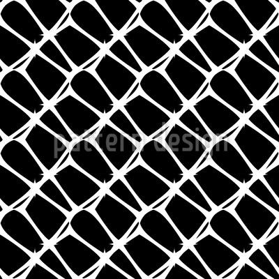 Vorsicht Stachel Vektor Muster