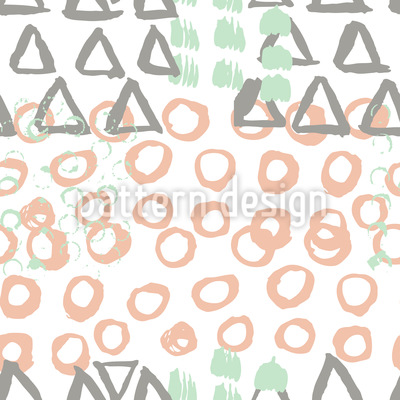 Scandinavian Brush Strokes Design Pattern