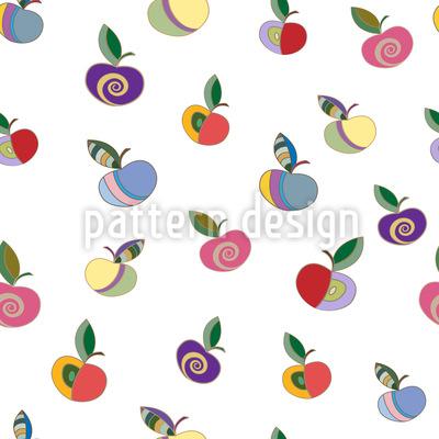 Verzierte Äpfel Rapport