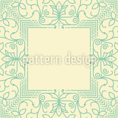 Dünne Linien Rapportiertes Design