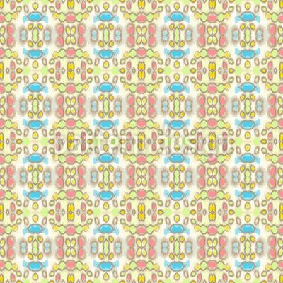 Checkered Batik Dream Pattern Design