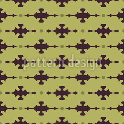 Latticed With Embellishment Vector Ornament