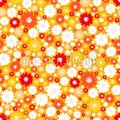 Sonniger Flower-Power Rapport