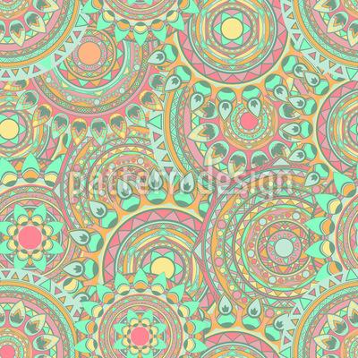 Mandala Überlauf Vektor Design