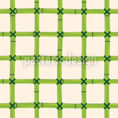 Bamboo Net Repeat Pattern
