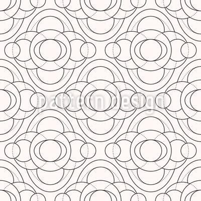 Monochrome Kreise Rapport