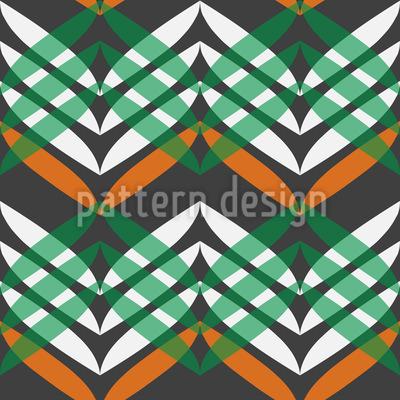 Im Zickzack Kurs Muster Design
