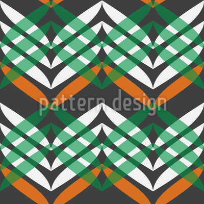 In Zigzag Course Pattern Design
