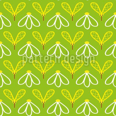 Cute Mosquito Design Pattern