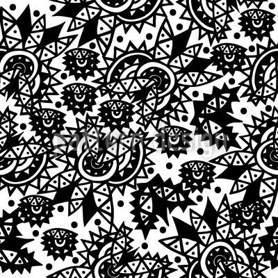 Ausgeschmückte Elemente Vektor Ornament