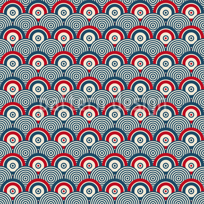Endless Targets Seamless Pattern