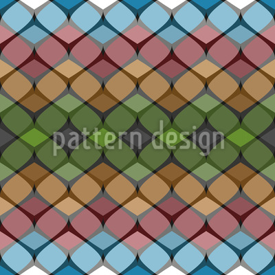 Harmonious Between Them Seamless Vector Pattern
