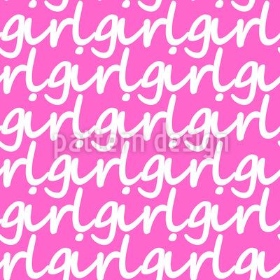 Baby Mädchen Musterdesign
