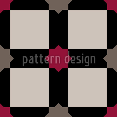 Classic Star Tile Design Pattern