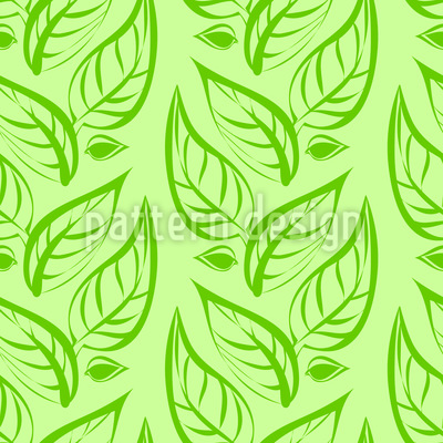 Floral Spring Ornaments Vector Pattern