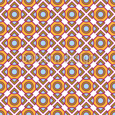 Duplicate The Circles And Squares Repeating Pattern