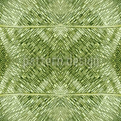 Blatt-Mosaik-Struktur Nahtloses Vektormuster