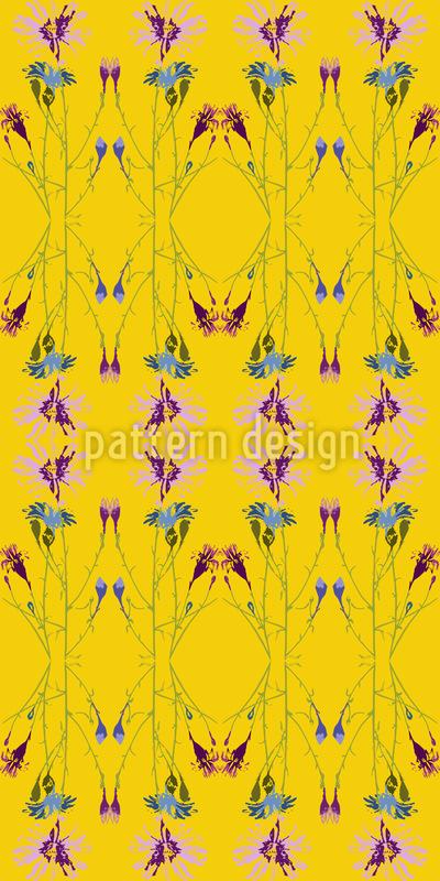 Radiant Floral Base Pattern Design