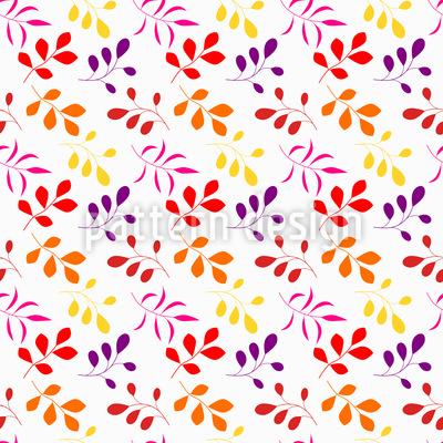 Farbenreicher Herbst Vektor Muster