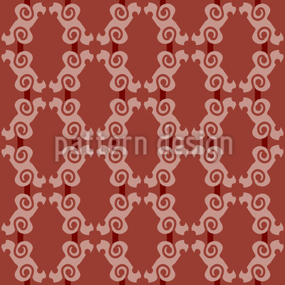 Verzierte Gitter Vektor Ornament