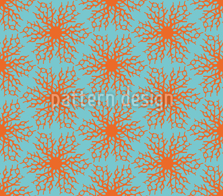 Sternförmige Korallen Vektor Design