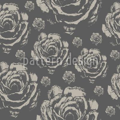 Quiet Roses Repeat Pattern
