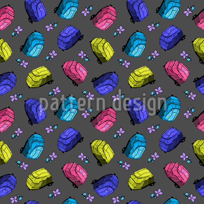 Beautiful School Bags Design Pattern