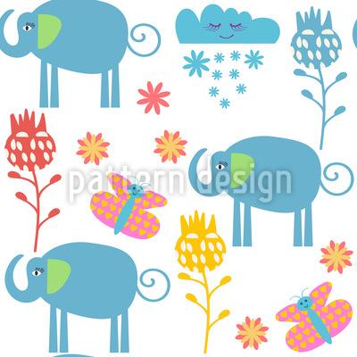 Elefant Gefährten Designmuster