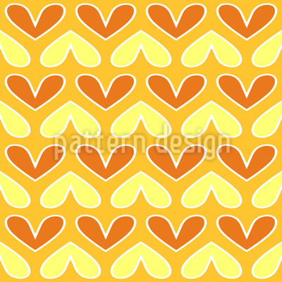 Courtship Dance Seamless Pattern