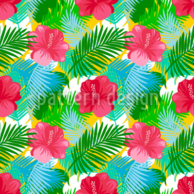 Tropical Summer Design Pattern