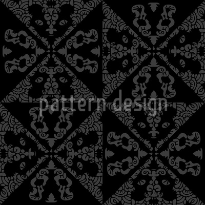 Tiled Monochrome Seamless Pattern