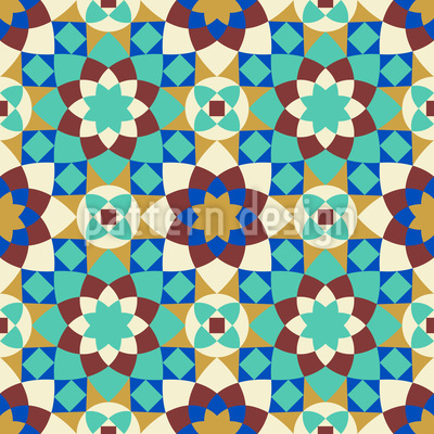 Arabic Tile Vector Pattern