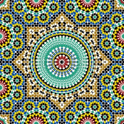 Oriental Stars Vector Design